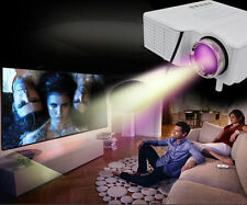 Home Theater Multimedia LED LCD Proyector Projector HD 1080P PC AV VGA USB