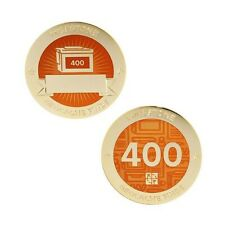 Milestone Geocoin and Tag Set - 400 Finds Geocaching Official Trackable
