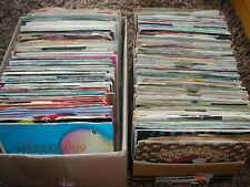"""JOB LOT 40 X 7"""" SINGLES - ALL 1980'S (ODD 90'S)  POP/ROCK/DISCO G-VG+ POST FREE"""