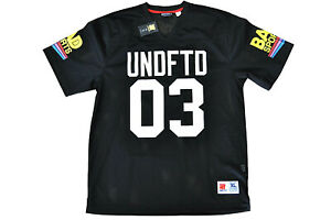 UNDEFEATED - BAD SPORTS JERSEY - BLACK UNDFTD - 100% AUTHENTIC