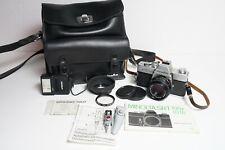 Minolta SRT100x + Rokkor 45mm F/2 ofiginaler Minolta Tsche Vintage Sammler