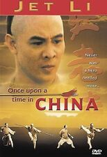 Once Upon a Time in China DVD Jet Li Martial Arts Kung Fu Karate