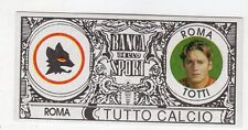 figurina - TUTTO CALCIO EURO MONETE  - ROMA TOTTI