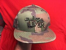 "EXC. QUICKSILVER FITTED 7-5/8"" CAMO TRUCKER HAT CAP NEW ERA"
