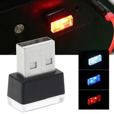 Mini USB Car Atmosphere Lights LED Cigarette Lighter Decorative Lights Lamp