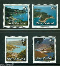 Harbors set of 4 stamps mnh New Zealand 1979 Scott #685-8