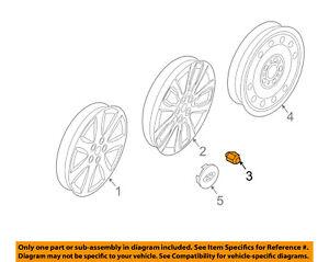 KIA OEM 11-16 Sorento Wheel-Lug Nut 52950M1000