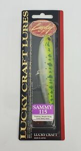 """Lucky Craft Sammy 115 Baby Bass Floating Fishing Lure 20 g 4 1/2"""""""