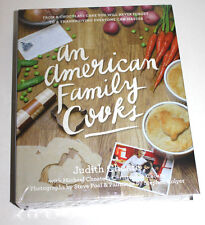 AN AMERICAN FAMILY COOKS - JUDITH CHOATE (HARDCOVER) NEW
