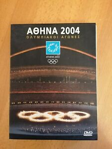 Athens 2004 Olympic Games 4 DVD Pack Official Release Greece