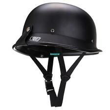 Dot Half Face Helmet German Crash Motorcycle Cruiser Scooter XL Size
