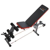 Adjustable Weight Bench Flat Incline/Decline Home Gym Workout Exercise Training