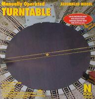Atlas N Scale Model Railroad Building Manual Train Turntable