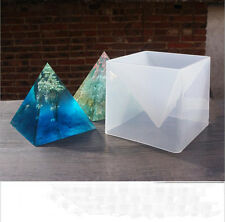 1pcs Oversized Pyramid silicone mold DIY jewelry molds epoxy resin molds