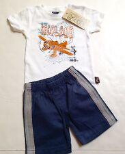 Charlie Rocket Boutique Brand Boys Short Set Size 9-12mo~Sea Plane~New~Made USA