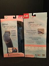 AS SEEN ON T.V. Genie Slim Jeggings Ultra Plush Lining Blue S/M - New -