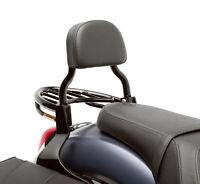 New OEM Kawasaki Vulcan 900 Custom Black Passenger Backrest - K53020-377B