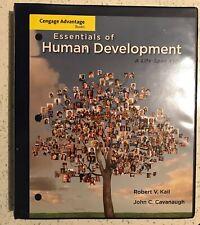 Essentials of Human Development A Life-Span View by Robert Kail / John Cavanaugh