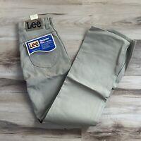 Vintage Lee Rider Regular Fit Straight Leg Jeans men 28 X 32 USA made Union tag
