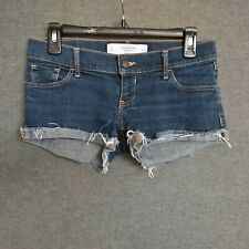 Abercrombie & Fitch Women's Short Shorts - Size 0  Distressed Wash