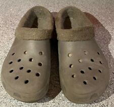 Crocs Mammoth Unisex Blue Clogs Slippers Size Men 7 Women 9