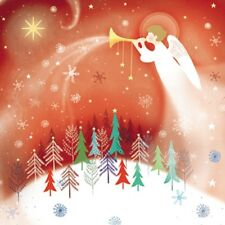 Pack of 6 Red Angel Charity Christmas Cards Supports Multiple Charities