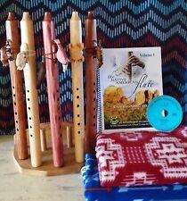 """Jonah Thompson Native Flute & John Vames Book """"Understanding the Gift"""" FLUTE SET"""