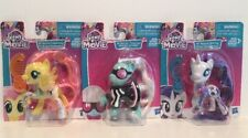 My Little Pony The Movie Lot Of 3 NIP All About Flutter Shy,Photo Finish, Rarity