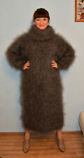 Sweater Fuzzy Dress Longhair 100% Goat Down Mohair Angora FETISH UNISEX