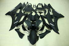 Aftermarket Fairing Kit fit for Yamaha YZF R6 06-07 2006 2007 matt black color