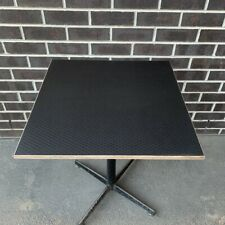 New Black Table Top, Cafe Restaurant Table Tops, Custom Sizes Available