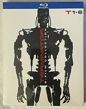 NEW THE TERMINATOR 6 FILM COLLECTION BLU RAY 6 DISC SET + SLIPBOX FREE SHIPPING
