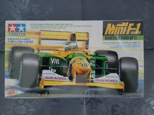 Tamiya Mini F-1 Series Benetton Ford B192 1/28 Scale Made In Japan New Sealed