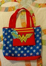 DC Comics Wonder Woman Packable Tote Beach Bag Handbag Reusable Grocery Bag New!