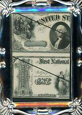 1875 $1 NATIONAL FIRST CHARTER BANK NOTE & LEGAL TENDER LABAN HEATH