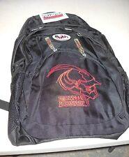 "Fullmetal Alchemist AL head Mythware black backpack 19"" full sized NEW w/tags"