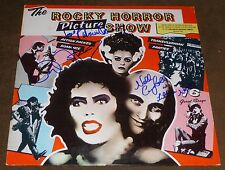 THE ROCKY HORROR PICTURE SHOW SIGNED SOUNDTRACK BARRY BOSTWICK LITTLE NELL QUINN