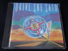 Drive She Said - Drive She Said (RARE MFN CD 1989) THE SIGN MARK MANGOLD
