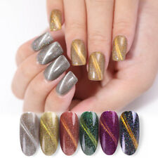BORN PRETTY 6ml Magnetic Cat Eye Gel Holo Sequins Chameleon Soak Off Nail UV Gel
