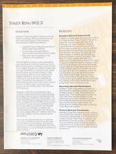 Wellfleet Communications - Token Ring / 802.5 Sales Brochure (1992)
