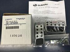 2008-2017 Genuine Subaru STi PEDAL PAD SET A/T LEGACY FORESTER IMPREZA OUTBACK