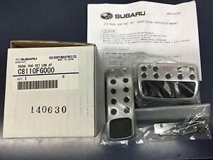 2008-2019 Genuine Subaru STi PEDAL PAD SET A/T LEGACY FORESTER IMPREZA OUTBACK