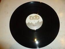 "NEUROTIC DRUM BAND - Project 6 - UK 4-track 12"" Vinyl Single - DJ Promo"