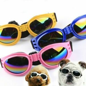 Pet Protection Small Doggles Dog Sunglasses Pet Goggles Glasses UV Sun LZ O6E3