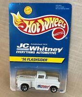 Hot Wheels 1995, JC Whitney, White '56 Flashsider Chevy Truck Ltd 20,000 NRFP