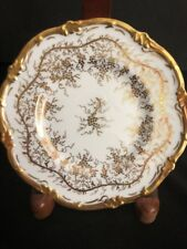 Royal Cauldon Kings Plate/White Gold /Bread Butter England Bone China Vintage/BB