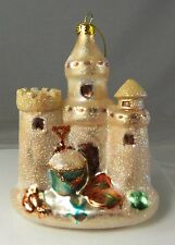 "Dept 56 Sand Castle Gone to Beach Christmas Holiday Ornament 4.5"" NOS 4047137"