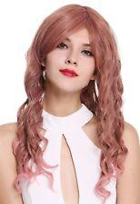 PERRUQUE pour femme long Raie Boucles BEACH WAVE ROSE aschrosa lc015-246