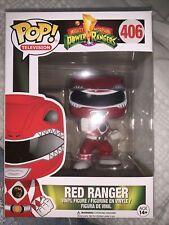 Power Rangers Funko POP! TV Red Ranger Vinyl Figure #406 New