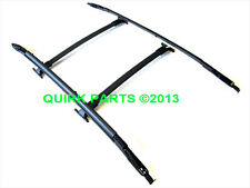2013-2015 Ford Escape Carbon Black Roof Rack Side Rails & Cross Bars Set OEM NEW